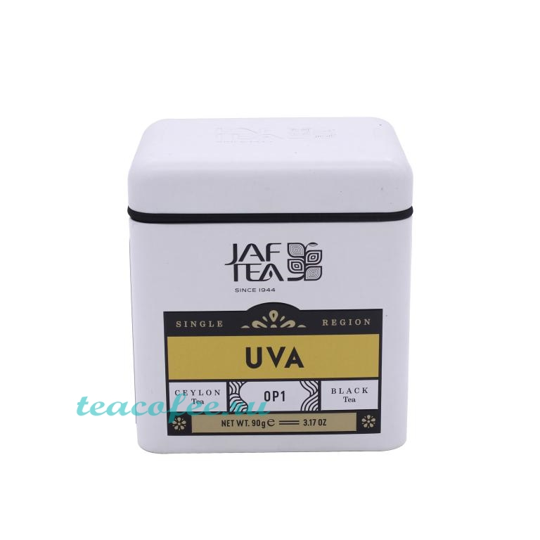 Чай Jaf Tea Single Region UVA OP1 черный 90 гр. (ж/б) Jaf Tea в магазине ТеаКофее, фото