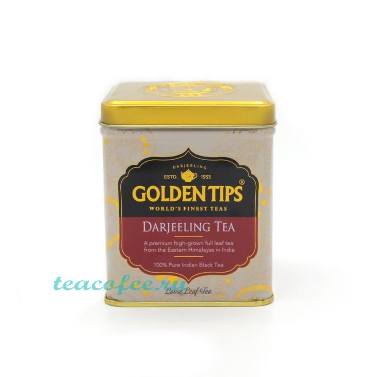 Golden Tips Darjeeling (Дарджилинг) черный 100 гр. (ж/б) Golden Tips в магазине ТеаКофее, фото