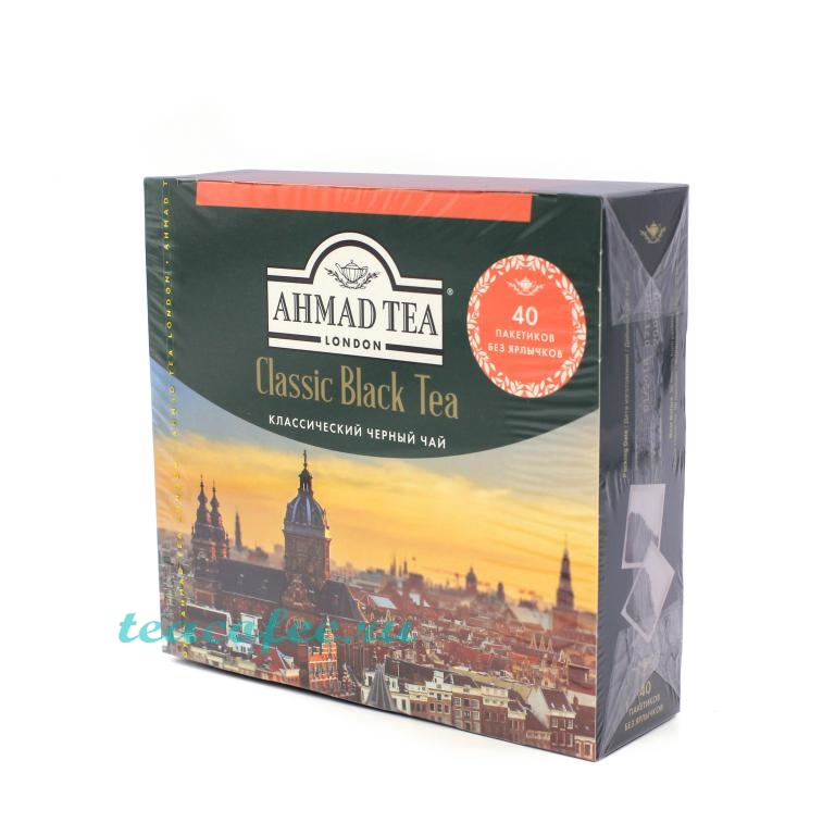 Чай Ahmad Tea Classic Black Tea 40 пакетиков Ahmad в магазине ТеаКофее, фото