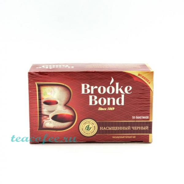 Чай Brooke Bond 50 пакетиков Brooke Bond в магазине ТеаКофее, фото