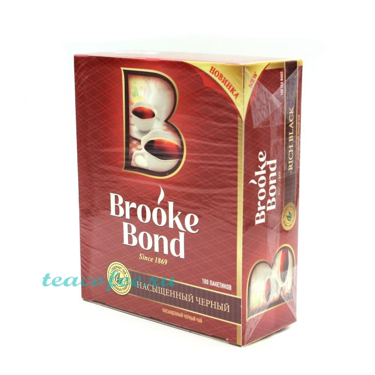 Чай Brooke Bond 100 пакетиков Brooke Bond в магазине ТеаКофее, фото